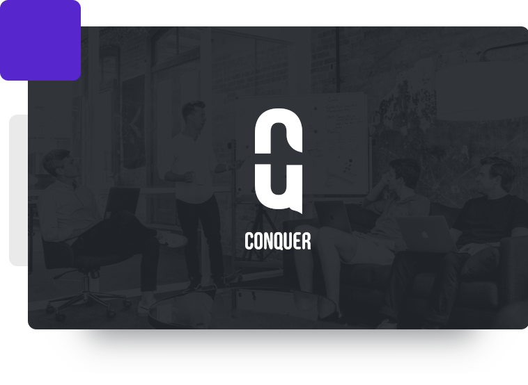 Conquer Sports logo